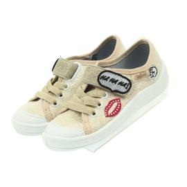 Befado obuwie dziecięce 251X098 brązowe 7