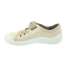 Befado obuwie dziecięce 251X098 brązowe 4