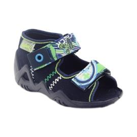 Befado obuwie dziecięce 250P058 granatowe 2