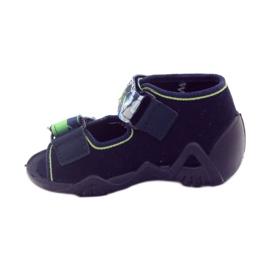 Befado obuwie dziecięce 250P058 granatowe 3