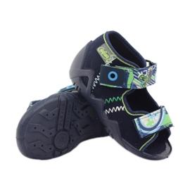 Befado obuwie dziecięce 250P058 granatowe 4
