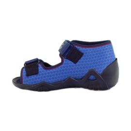 Befado obuwie dziecięce 250P069 niebieskie 3