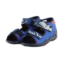 Befado obuwie dziecięce 250P069 niebieskie 4