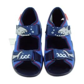 Befado obuwie dziecięce 250P069 niebieskie 5