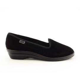 Befado obuwie damskie pvc 262D008 czarne 1