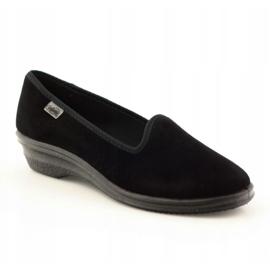 Befado obuwie damskie pvc 262D008 czarne 2