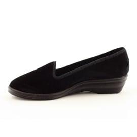 Befado obuwie damskie pvc 262D008 czarne 3