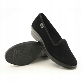 Befado obuwie damskie pvc 262D008 czarne 4