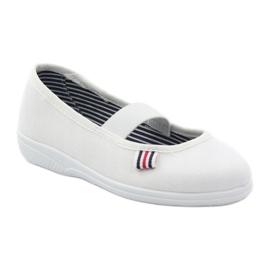 Befado obuwie dziecięce 274X013 białe 2
