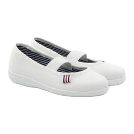 Befado obuwie dziecięce 274X013 białe 5