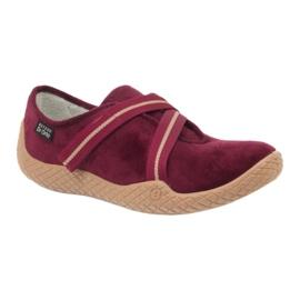 Befado obuwie damskie pu--young 434D016 czerwone 2