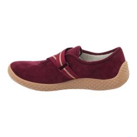 Befado obuwie damskie pu--young 434D016 czerwone 3