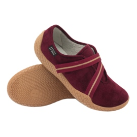 Befado obuwie damskie pu--young 434D016 czerwone 4
