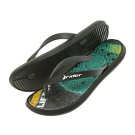 Klapki buty dziecięce Rider 82563 czarne 5