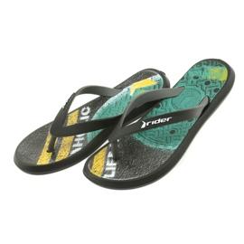 Klapki buty dziecięce Rider 82563 czarne 4