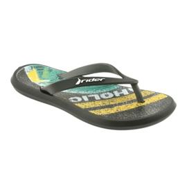 Klapki buty dziecięce Rider 82563 czarne 1