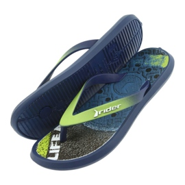 Klapki buty dziecięce Rider 82563 granatowe 5