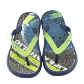 Klapki buty dziecięce Rider 82563 granatowe 3