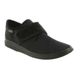 Befado obuwie męskie zdrowotne 036m006 czarne 1