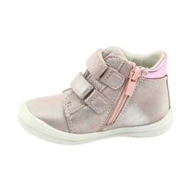 American Club ADI sportowe buty dziecięce w serduszka American szare różowe 2