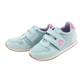 American Club Buty sportowe dziewczęce jogging American fioletowe niebieskie różowe 3