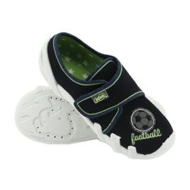 Befado obuwie dziecięce 273X247 białe granatowe 5