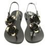 Ipanema sandały buty damskie z kwiatami 82662 zdjęcie 4