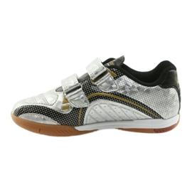 Halówka sportowa American Club Silver czarne szare żółte 2