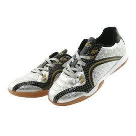 Halówki Sportowe American Club OG13 Silver czarne szare żółte 3