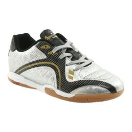 Halówki Sportowe American Club OG13 Silver czarne szare żółte 1
