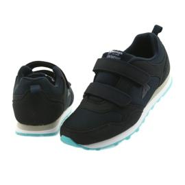 Buty dziecięce sportowe American Club WT30 granatowe bezbarwne 4
