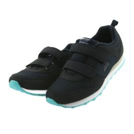 Buty dziecięce sportowe American Club WT30 granatowe bezbarwne 3