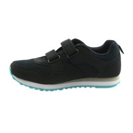 Buty dziecięce sportowe American Club WT30 granatowe bezbarwne 2