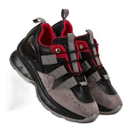 Lekkie Sneakersy VICES czarne 1