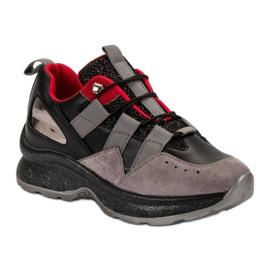 Lekkie Sneakersy VICES czarne 5