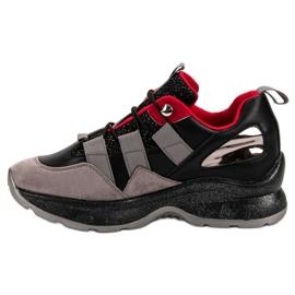 Lekkie Sneakersy VICES czarne 6