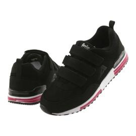 Buty sportowe wkładka skóra American Club 5 czarne 4