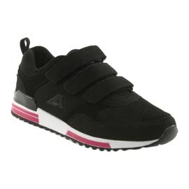 Buty sportowe wkładka skóra American Club 5 czarne 1