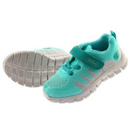 Befado obuwie dziecięce do 23 cm 516X027 szare zielone 5