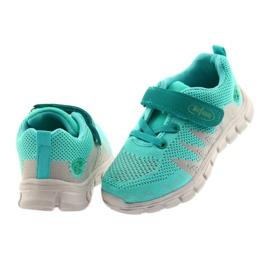 Befado obuwie dziecięce do 23 cm 516X027 szare zielone 4