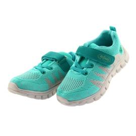 Befado obuwie dziecięce do 23 cm 516X027 szare zielone 3