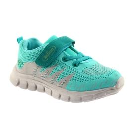 Befado obuwie dziecięce do 23 cm 516X027 szare zielone 1
