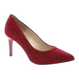 Czerwone czólenka damskie SALA 7064 1