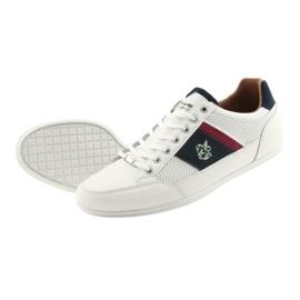 Buty Sportowe męskie Mckey 901 białe 5
