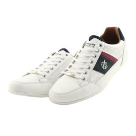 Buty Sportowe męskie Mckey 901 białe 3
