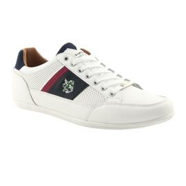Buty Sportowe męskie Mckey 901 białe 1