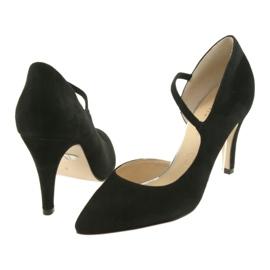 Czółenka damskie Caprice 24402 czarne 4