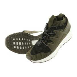 Befado obuwie dziecięce do 23 cm 516Y028 czarne zielone 5