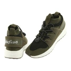 Befado obuwie dziecięce do 23 cm 516Y028 czarne zielone 4