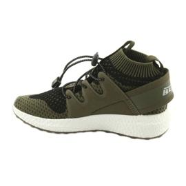 Befado obuwie dziecięce do 23 cm 516Y028 czarne zielone 2